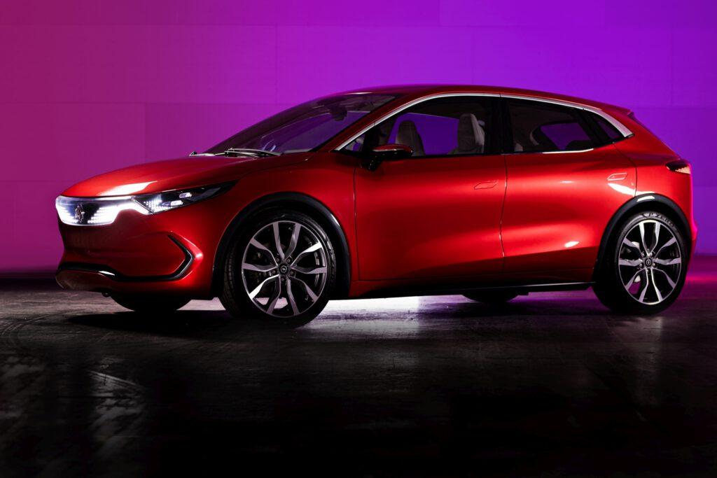 Izera - Polski samochód elektryczny - prototyp