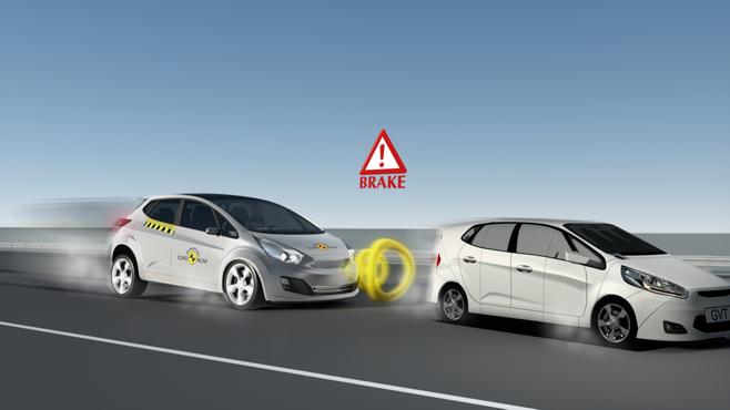 Test AEB - Euro NCAP